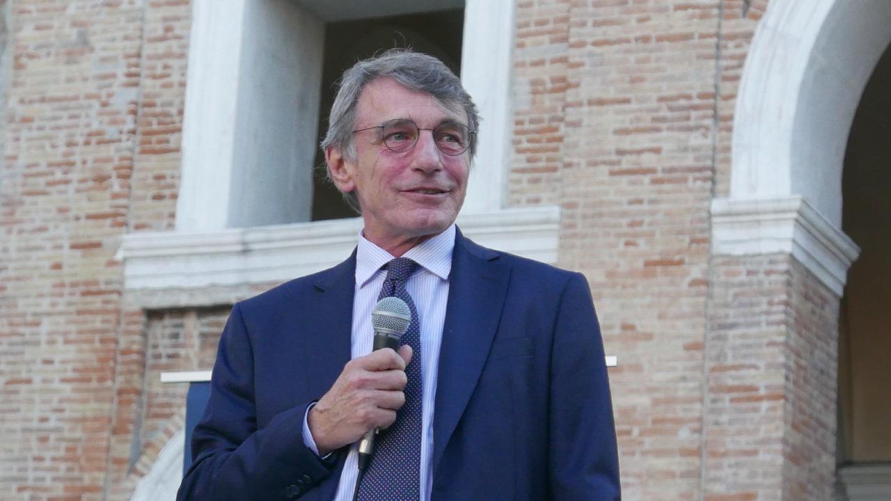 David Sassoli a Senigallia