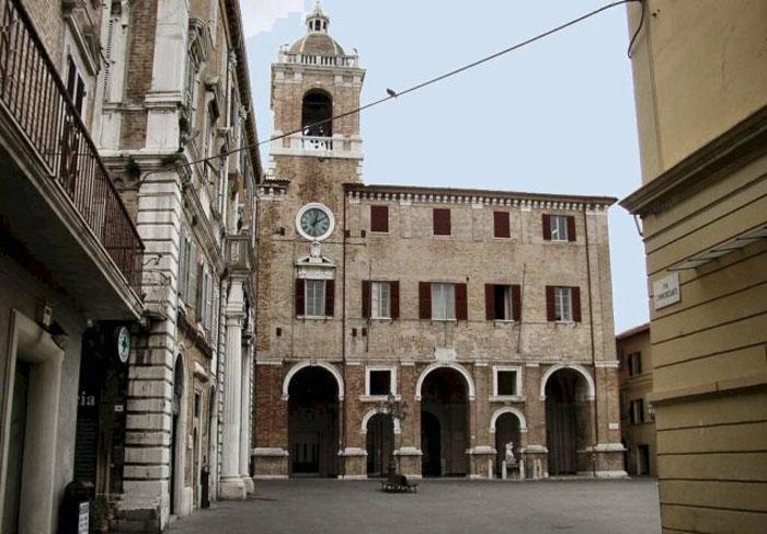 Piazza Roma a Senigallia