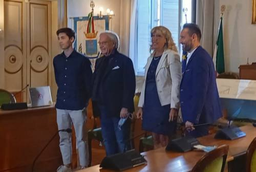 Nuovo stadio realizzato da Della Valle a Casette D'Ete, Terrenzi: «Ottima sinergia tra pubblico e privato»