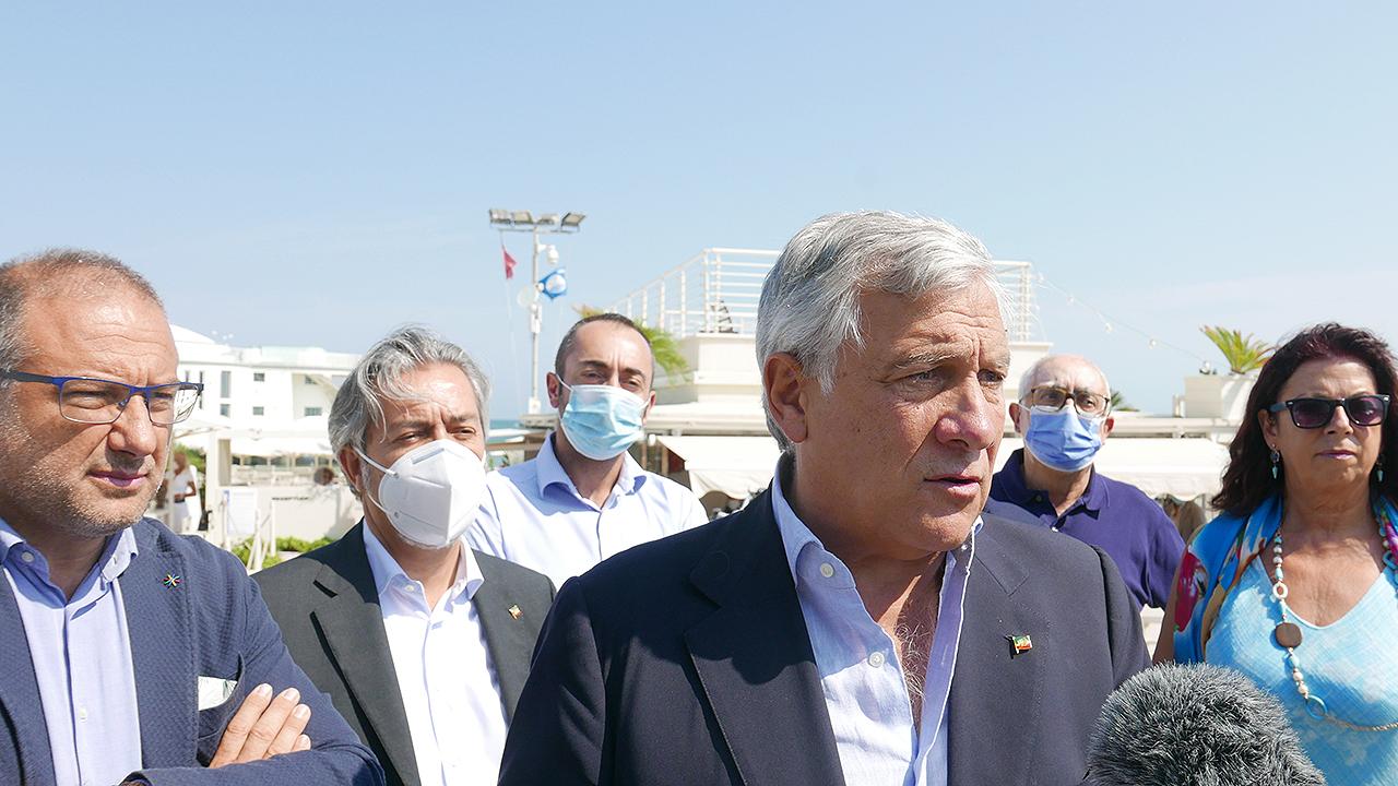 Antonio Tajani a Senigallia