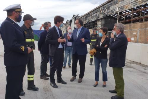 Ex Tubimar al porto di Ancona, Acquaroli: «Vogliamo porci con un progetto valido di rilancio»