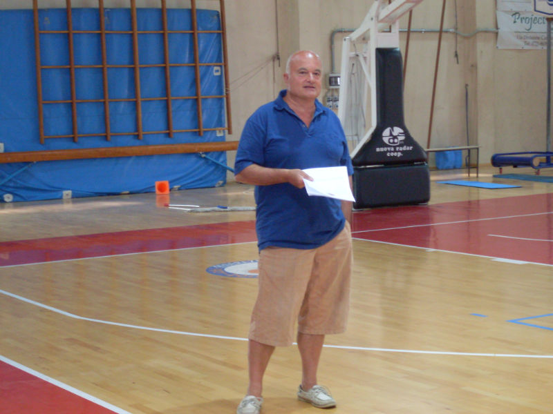 Claudio Moroni, presidente della Goldengas Senigallia