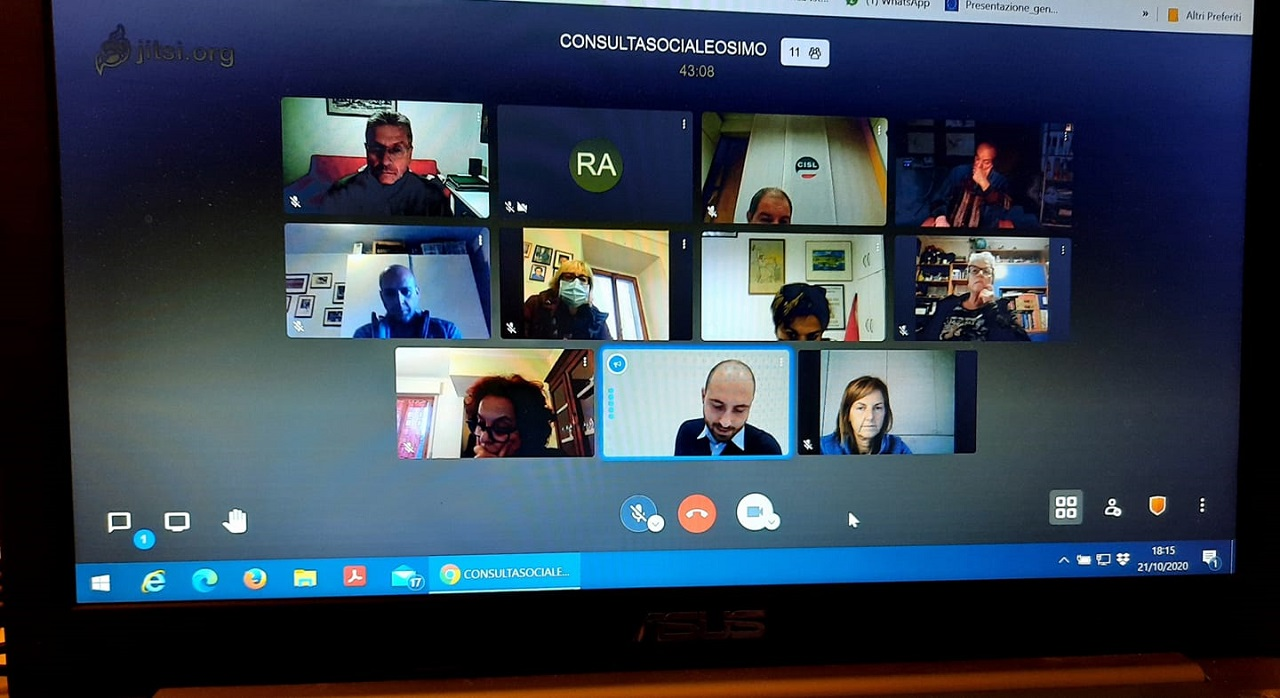 La riunione della Consulta disabili Osimo
