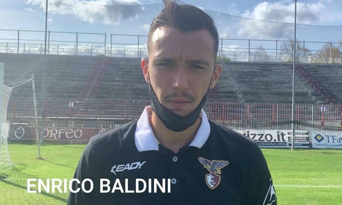 Enrico Baldini giocatore in forza all'Alma Juventus Fano