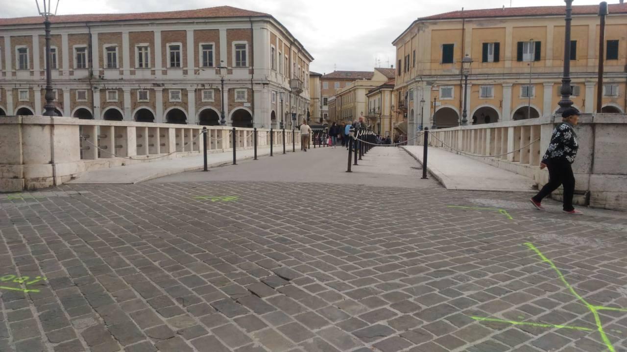 Il ponte II Giugno a Senigallia