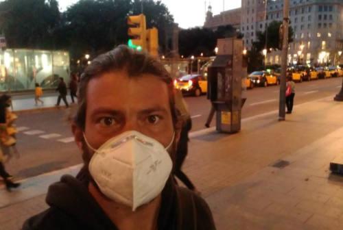 Emergenza covid-19: la Spagna raccontata dall'ostrense Marco Pachiega – FOTO
