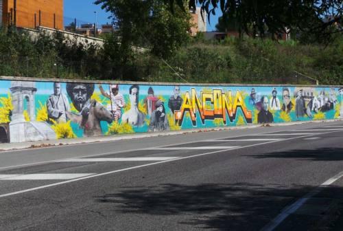 Street art, Ancona è più bella con la magia dei murales. Intervista ai writer