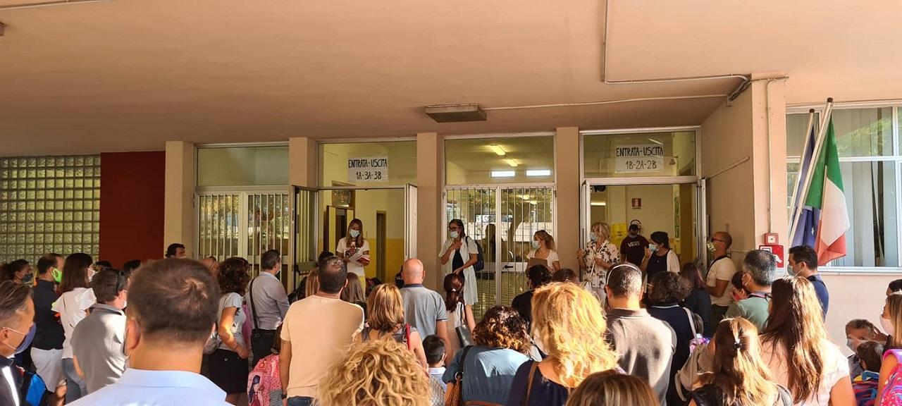 L'inizio della scuola a Osimo