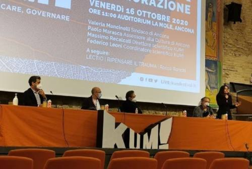 """Al via alla Mole di Ancona l'edizione 2020 di """"Kum!"""". Tre giorni per parlare di """"cura"""""""