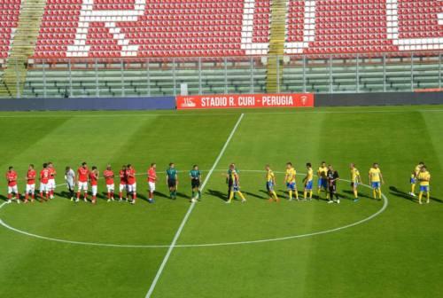Calcio, Fermana ancora sconfitta a Perugia: i soliti errori difensivi condannano i canarini