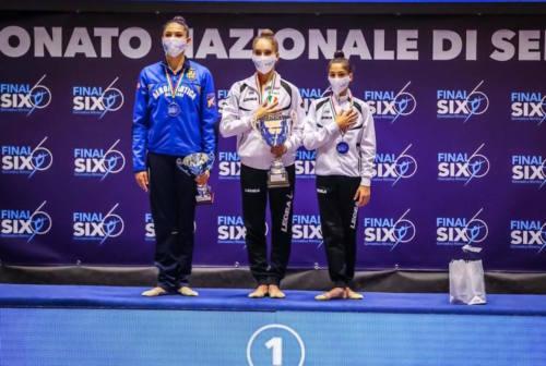 Ritmica: la Faber Fabriano nella storia, vinto il quarto scudetto di fila