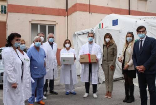 Osimo, donato un ventilatore polmonare all'ospedale