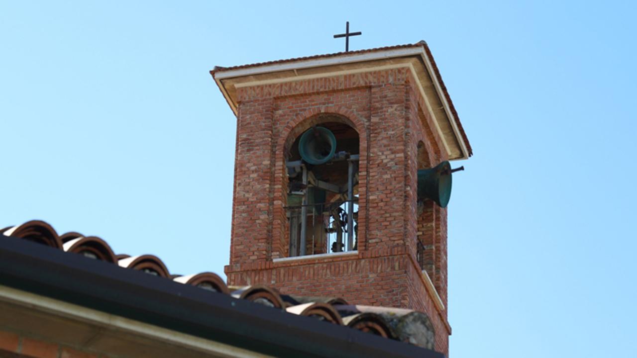 Le campane degli aviatori alla chiesa S.Pio X, al Ciarnin di Senigallia