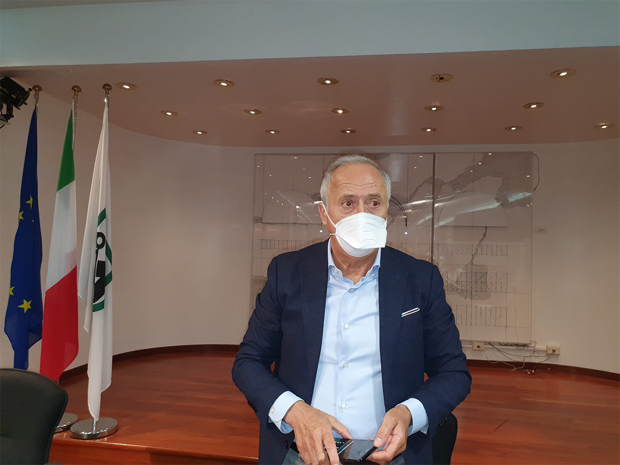 L'assessore regionale alla sanità Filippo Saltamartini