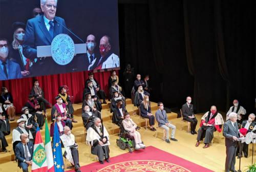 «Umanesimo che innova chiave della diversità»: Mattarella inaugura l'anno accademico dell'Università di Macerata – VIDEO