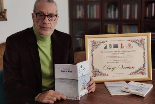 """Concorso internazionale """"Amico Rom"""": premiato il marchigiano Diego Venturi con il libro """"Ariel e Azra"""""""