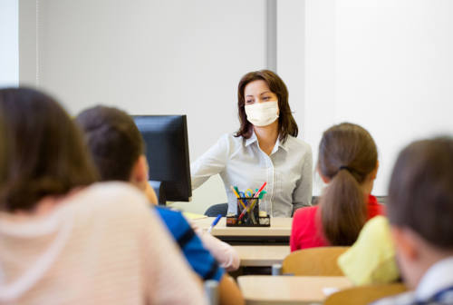 Protezione civile e regole anti covid: è il ritorno a scuola a Senigallia