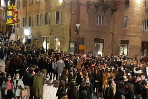 Urbino, misure anti- Covid-19: pioggia di multe agli studenti indisciplinati