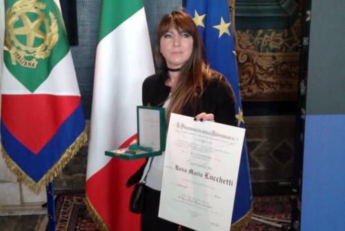 La cassiera di Pesaro premiata da Mattarella per la lettera ai medici: «Le favole esistono»