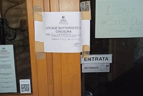 Pesaro, ristoratore disobbediente: il questore chiude La Macelleria per 15 giorni
