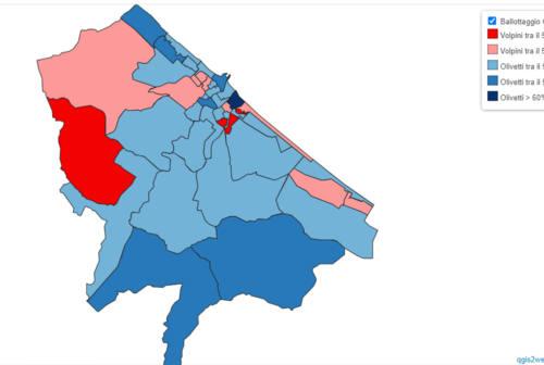 Senigallia e il voto: 30 sezioni per Olivetti. Volpini perde Borgo Bicchia ma tiene Scapezzano