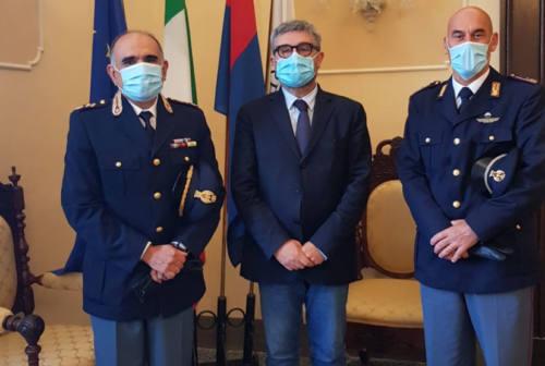 Senigallia, il sindaco riceve il nuovo comandante della Polizia stradale