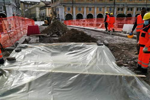 Senigallia, dagli scavi per il ponte II Giugno spunta un ordigno bellico