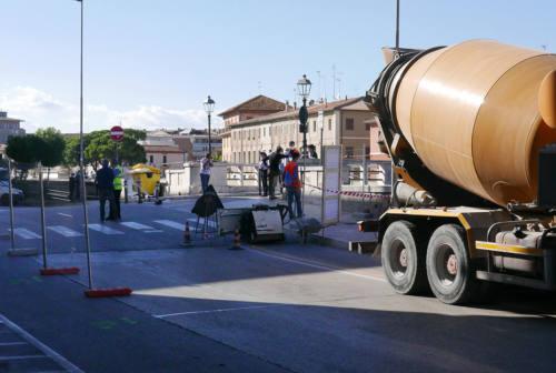 Altra bomba inesplosa spunta a Senigallia dal cantiere di ponte II Giugno