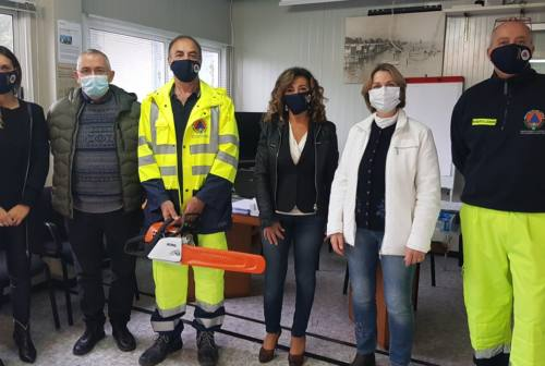 Falconara: riattivato il servizio a domicilio di spesa e farmaci della Protezione Civile comunale