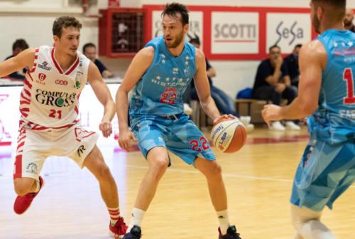 Basket: SuperCoppa, la Ristopro Fabriano torna a giocare