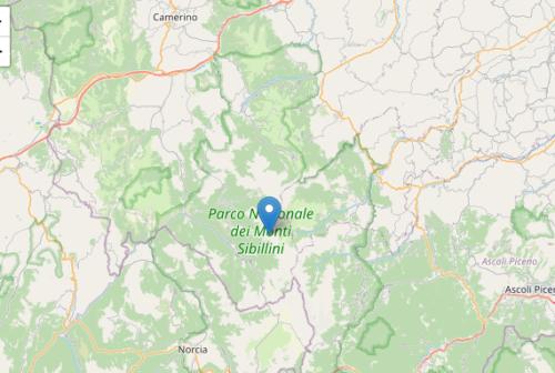 Scossa di magnitudo 3.0 a Castelsantangelo sul Nera