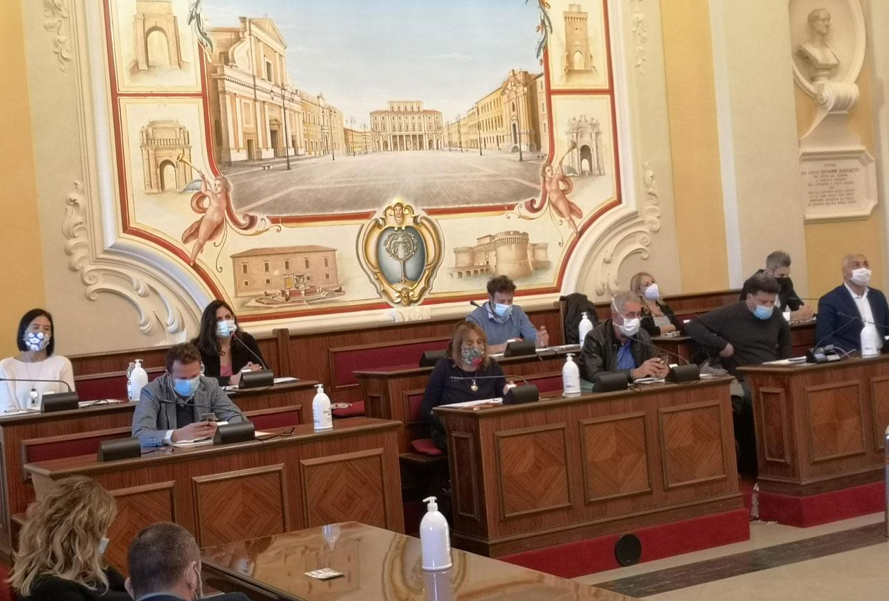 I consiglieri di opposizione di centrosinistra a Senigallia