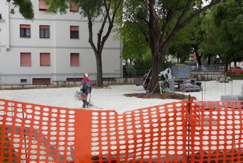 Jesi, parcheggio compensatore di via Paladini: lavori in dirittura d'arrivo