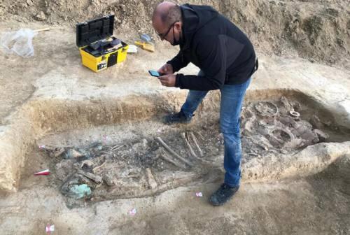 Sirolo: scoperta tomba gentilizia di età picena