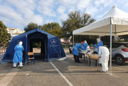 Coronavirus nelle Marche: 519 positivi, un 24,5% dei test