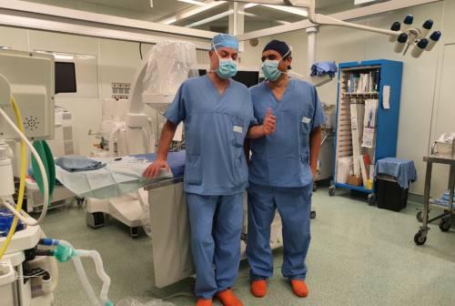 Ad Ancona la nuova tecnica di chirurgia dell'aorta. Di Eusanio: «Vero intervento ibrido» – VIDEO