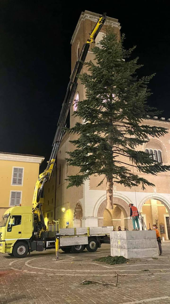 Albero di Natale 2020 a Fano