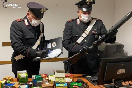 Polverigi, litigio durante la caccia: arrestato per porto illegale d'armi