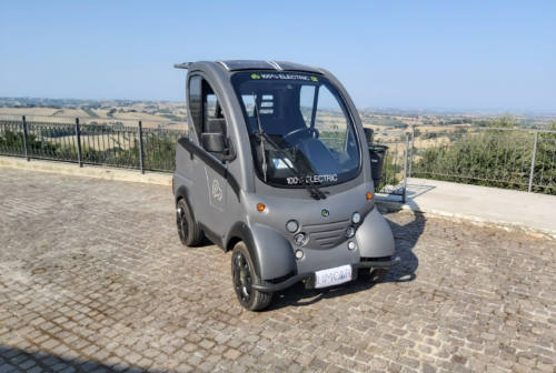 Start up di Jesi lancia ElettraCity, la prima mini car elettrica made in Italy