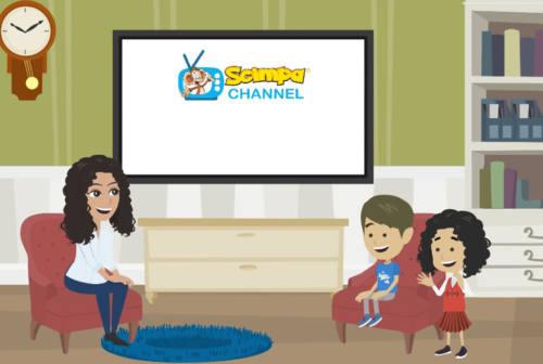 Giornata mondiale dell'infanzia, si accende Scimpa Channel