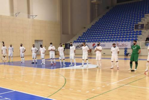 Futsal, Italservice Pesaro rientrata dopo la trasferta in Montenegro. Miarelli: «Abbiamo fatto il nostro lavoro»