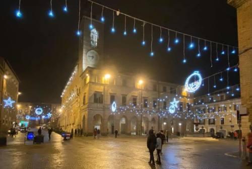 Illuminazione pubblica di Osimo ad Astea