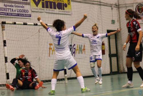 Città di Falconara, il 4-5 con il Real Statte vale un grande primo posto