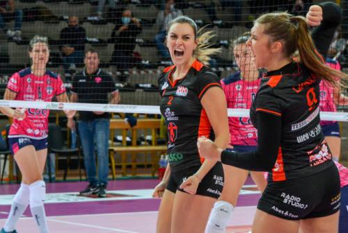 Volley femminile, la CBF Balducci è in semifinale. Roma al tappeto