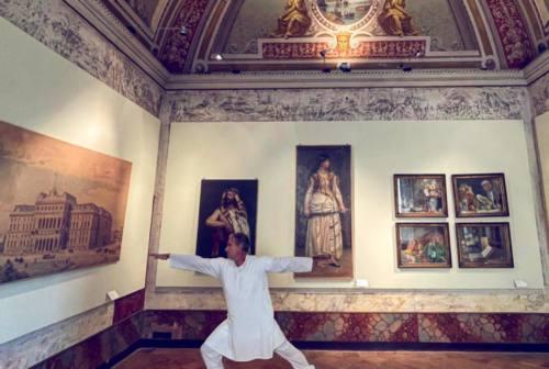 Jesi, fitness in pinacoteca con i Pianetti's Friends