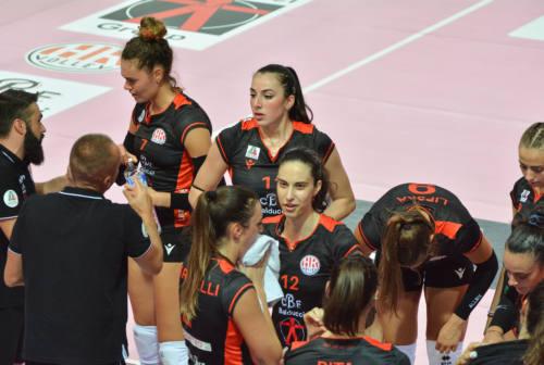 Volley femminile, finisce ai quarti il sogno della CBF Balducci Macerata