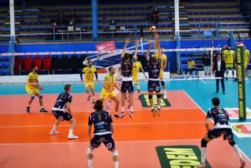 Volley, altra caduta per la Med Store Macerata a Portomaggiore