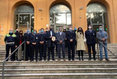 Macerata, il saluto della Polizia locale al questore Antonio Pignataro