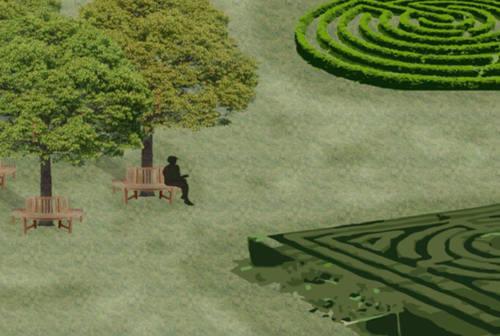 Labirinti, relax e didattica nel verde: rinasce l'area di Madonna del Piano