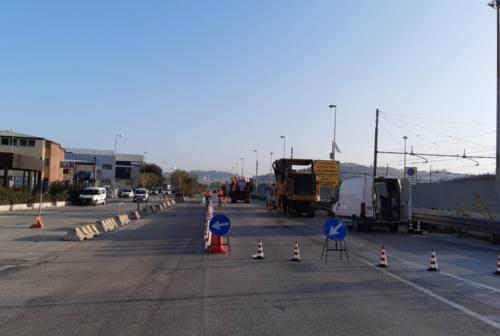 Ancona, al via i lavori in via Mattei e la messa in sicurezza della rotatoria